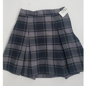 Other - Girls plaid uniform skirt size 6x NWT